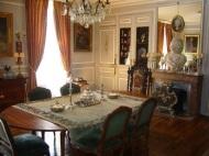 Salle à manger du chateau de La Montchevalleraie