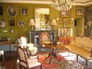 Salon vert du chateau de La Montchevalleraie